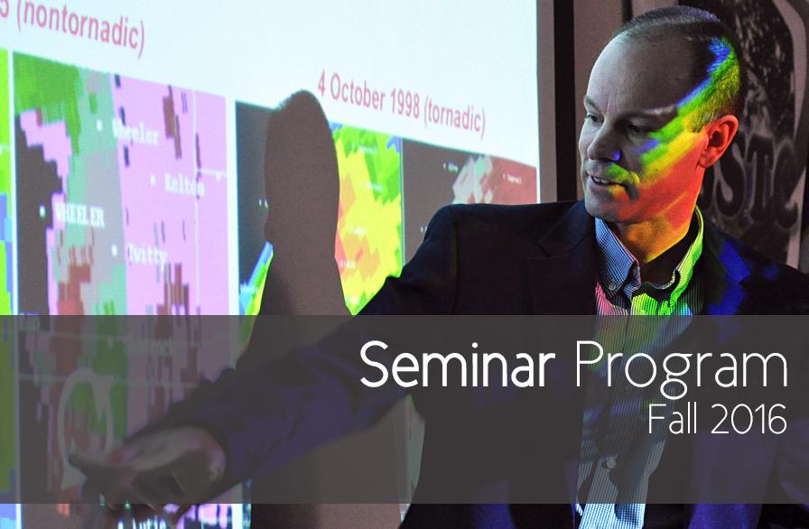 Seminar Program - Fall 2016